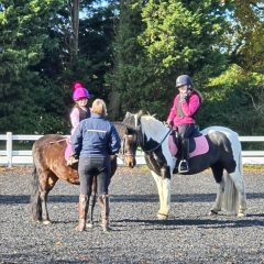 Confident Equestrians - coaching a visually impaired rider